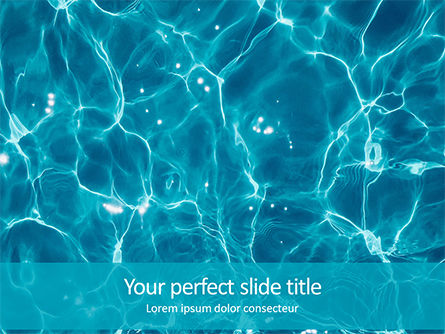 Abstract/Textures: Templat PowerPoint Gratis Blue Water Ripple Background #16226