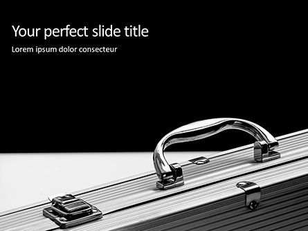 Business Concepts: Aluminium Briefcase Presentation #16371