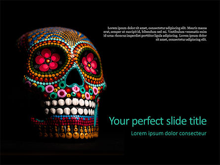 Holiday/Special Occasion: Artsy Skull Presentation #16399
