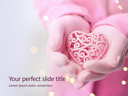 Holiday/Special Occasion: Plantilla de PowerPoint gratis - valentine's day card #16459
