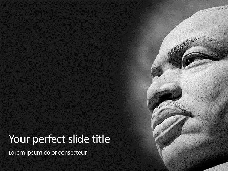 People: Templat PowerPoint Gratis Martin Luther King Memorial Presentation #16587