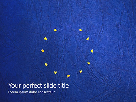 Flags/International: Brexit Concept Presentation Gratis Powerpoint Template #16656