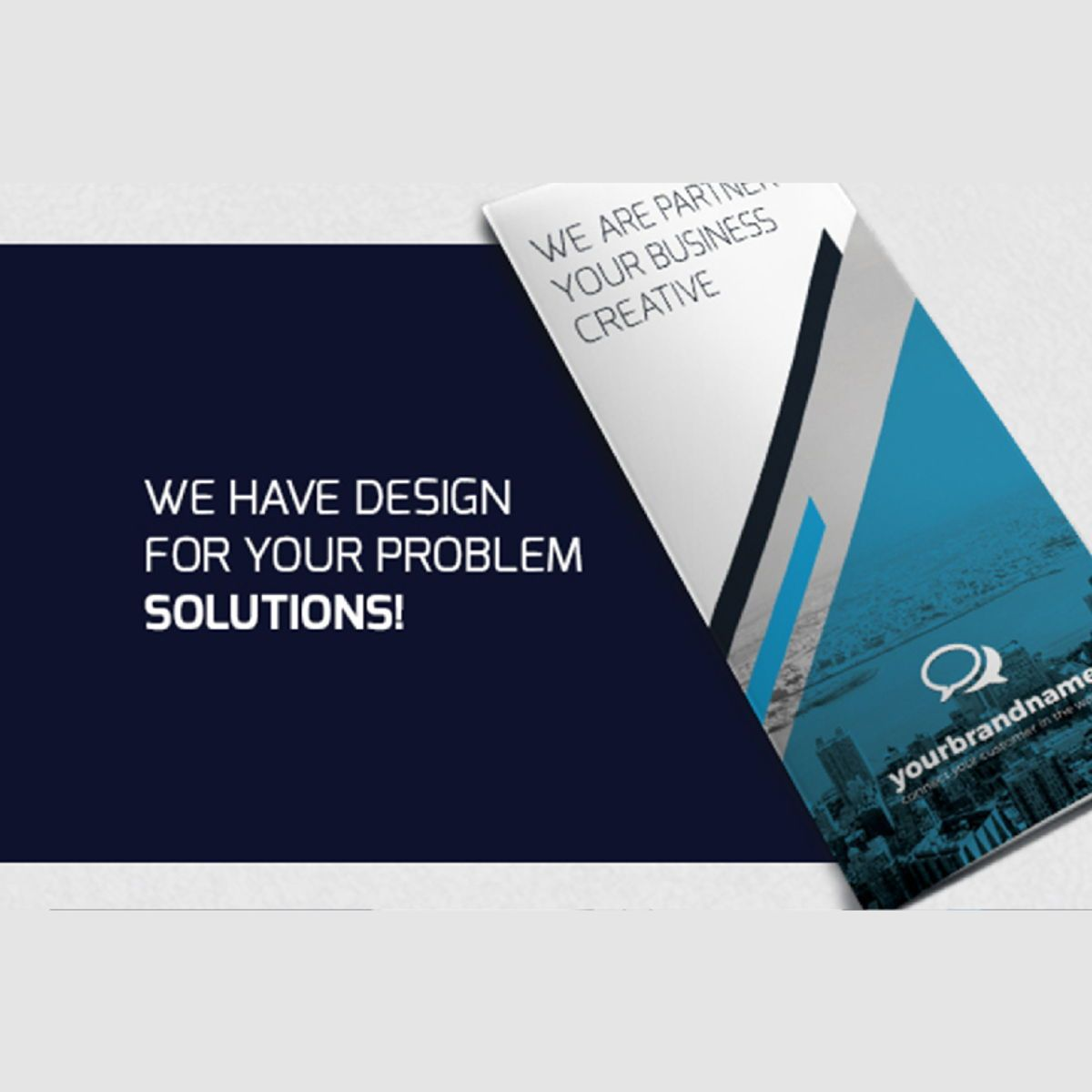 Business Brochure Trifold PSD Template, Slide 2, 08450, Business — PoweredTemplate.com