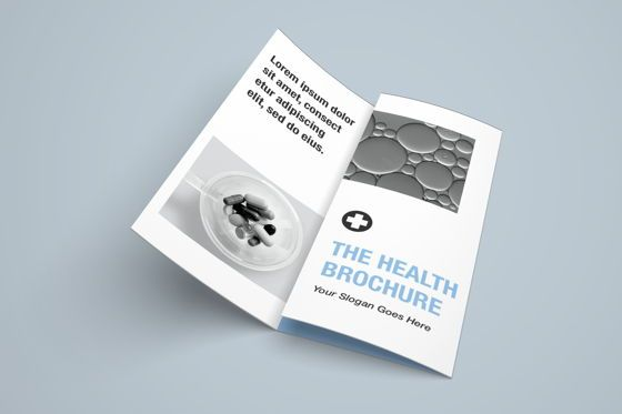 Medical: The Health Medical Trifold Brochure #08451