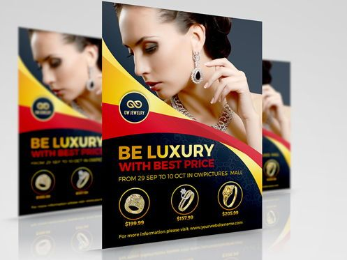 Business Concepts: Jewelry Flyer Template #08453