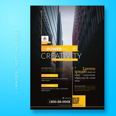 Abstract/Textures: Corporate Business Flyer Template #08473