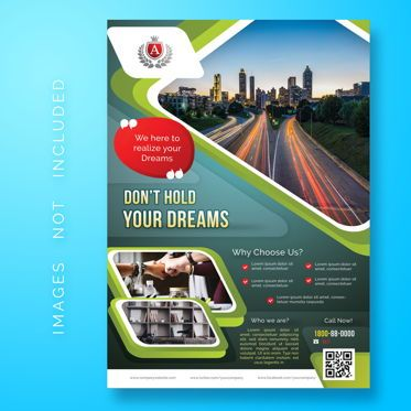 Abstract/Textures: Corporate Business Flyer Template #08475