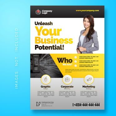Business: Multipurpose Corporate Flyer Template #08486