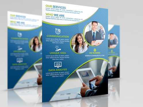 Business: Corporate Flyer Template #08492