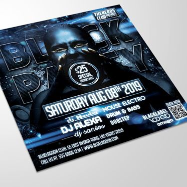 Art & Entertainment: Night Club Flyer Template #08514