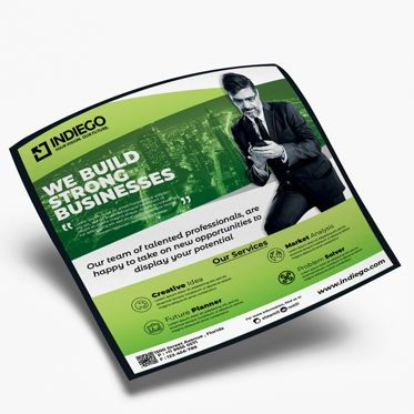 Business: Corporate Flyer Template #08520