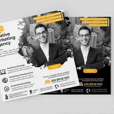 Business: Creative Agency Flyer Template #08521