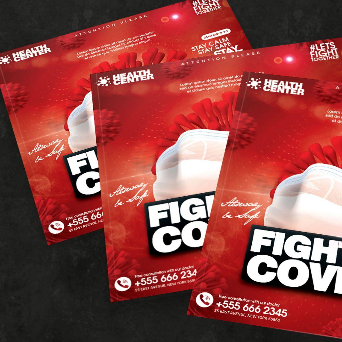 Fight For Corona Flyer, Slide 3, 08535, People — PoweredTemplate.com