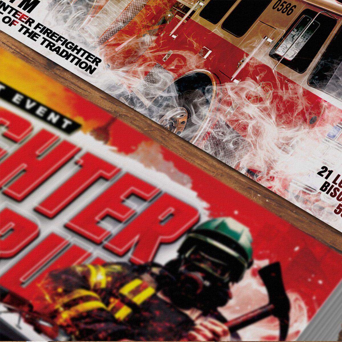 Firefighter Requitment Flyer, Slide 5, 08539, General — PoweredTemplate.com