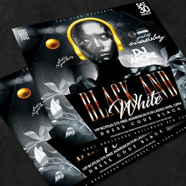 Art & Entertainment: Night Club Flyer Template #08566