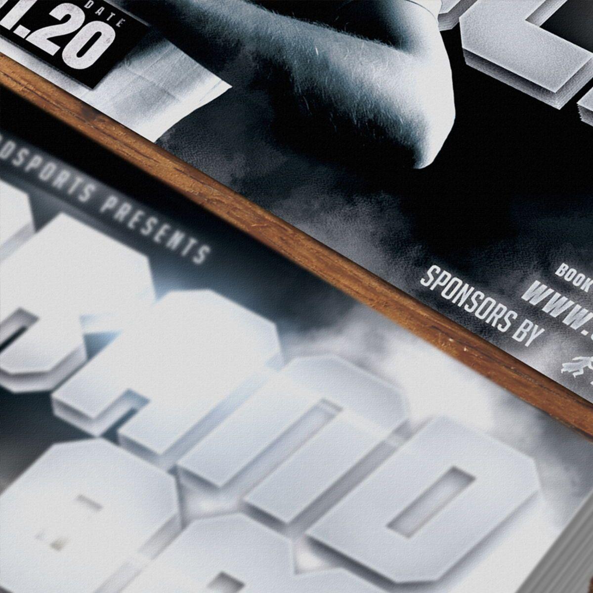 Tennis Flyer Template, Slide 3, 08576, Sports — PoweredTemplate.com