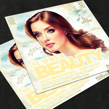Art & Entertainment: Night Club Flyer Template #08589