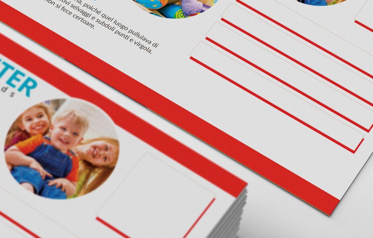 Kids Care Center PostCard, Slide 7, 08610, Business — PoweredTemplate.com