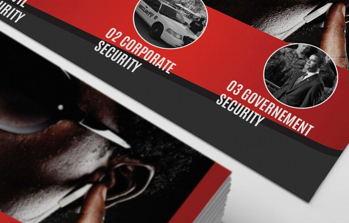 Security Company Promotion PostCard, Slide 5, 08660, Business — PoweredTemplate.com
