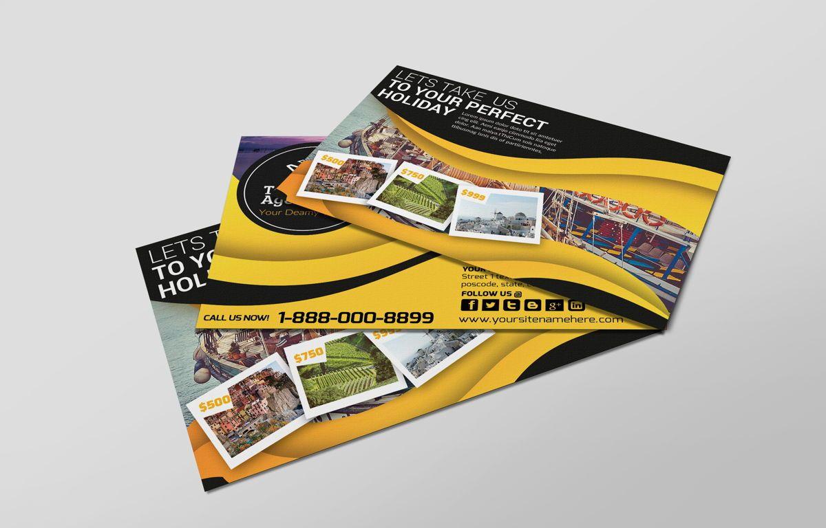 Travel Agency PostCard, Diapositive 4, 08666, Business — PoweredTemplate.com