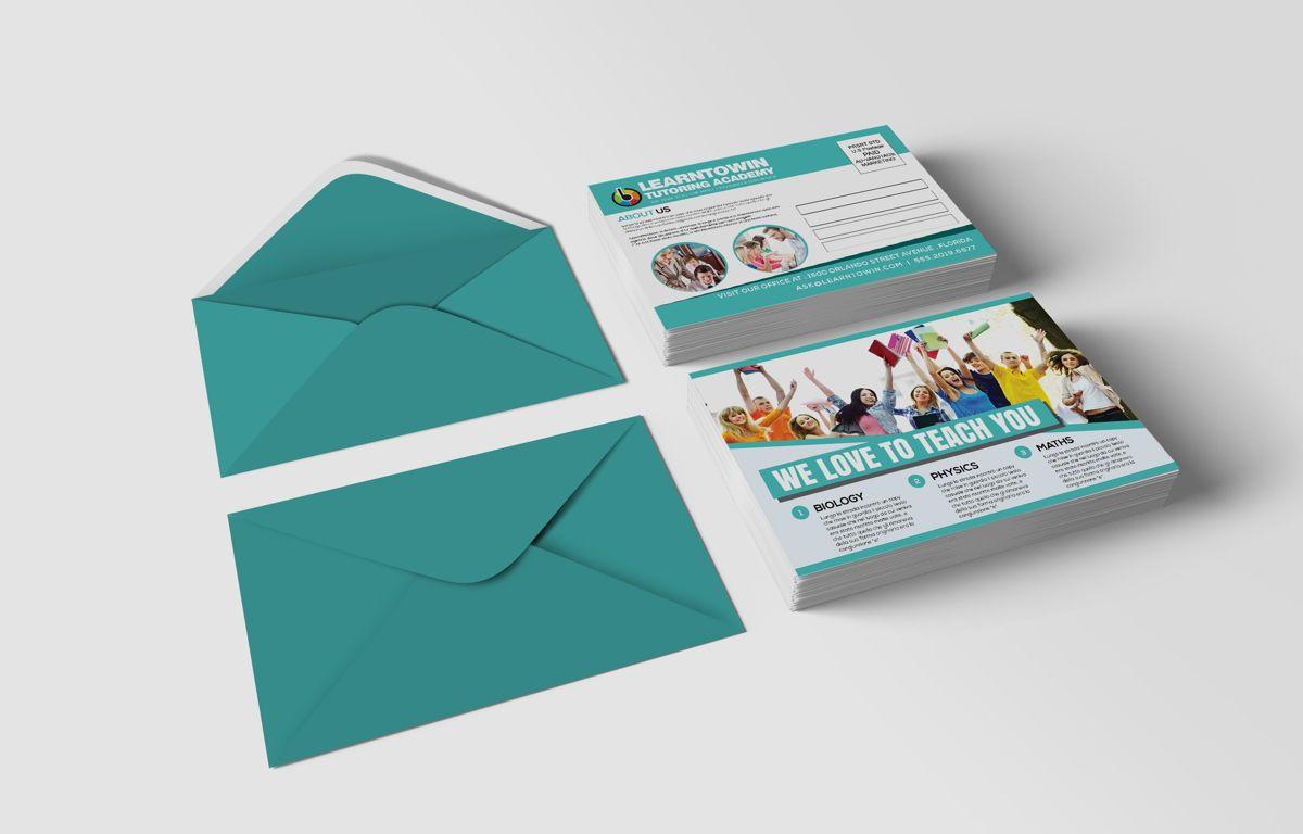 Tutoring Academy Promotion PostCard, Diapositive 2, 08667, Éducation / Formation — PoweredTemplate.com