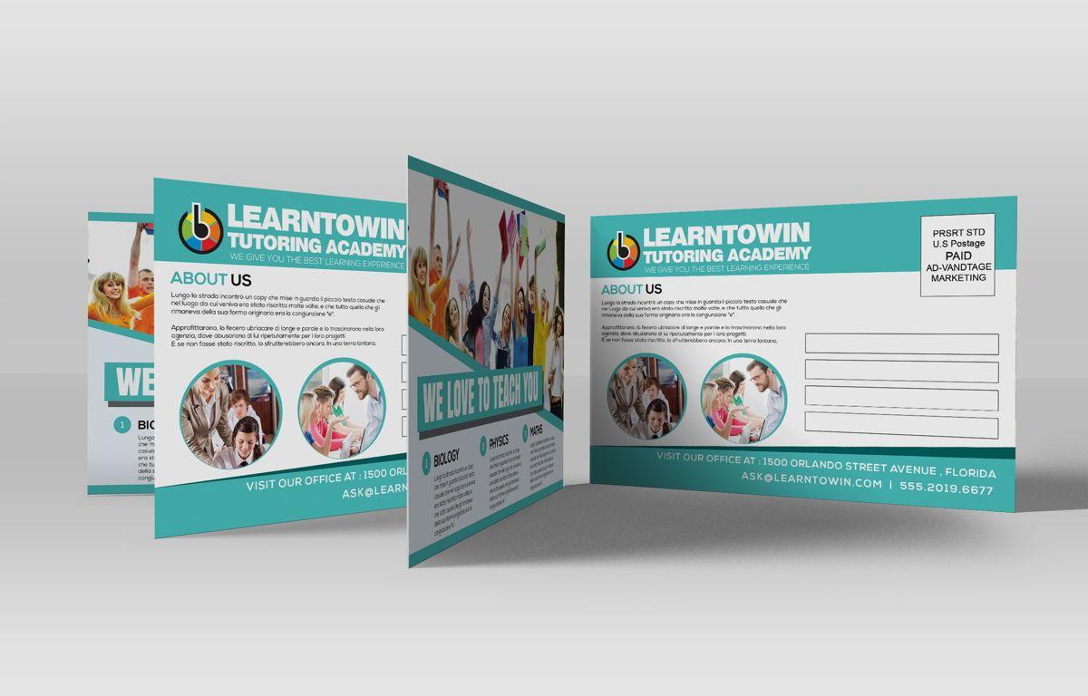 Tutoring Academy Promotion PostCard, Diapositive 3, 08667, Éducation / Formation — PoweredTemplate.com