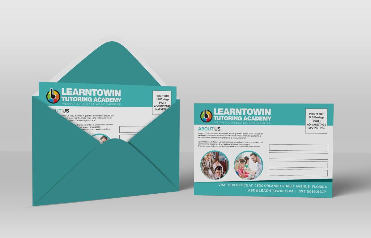 Tutoring Academy Promotion PostCard, Diapositive 4, 08667, Éducation / Formation — PoweredTemplate.com