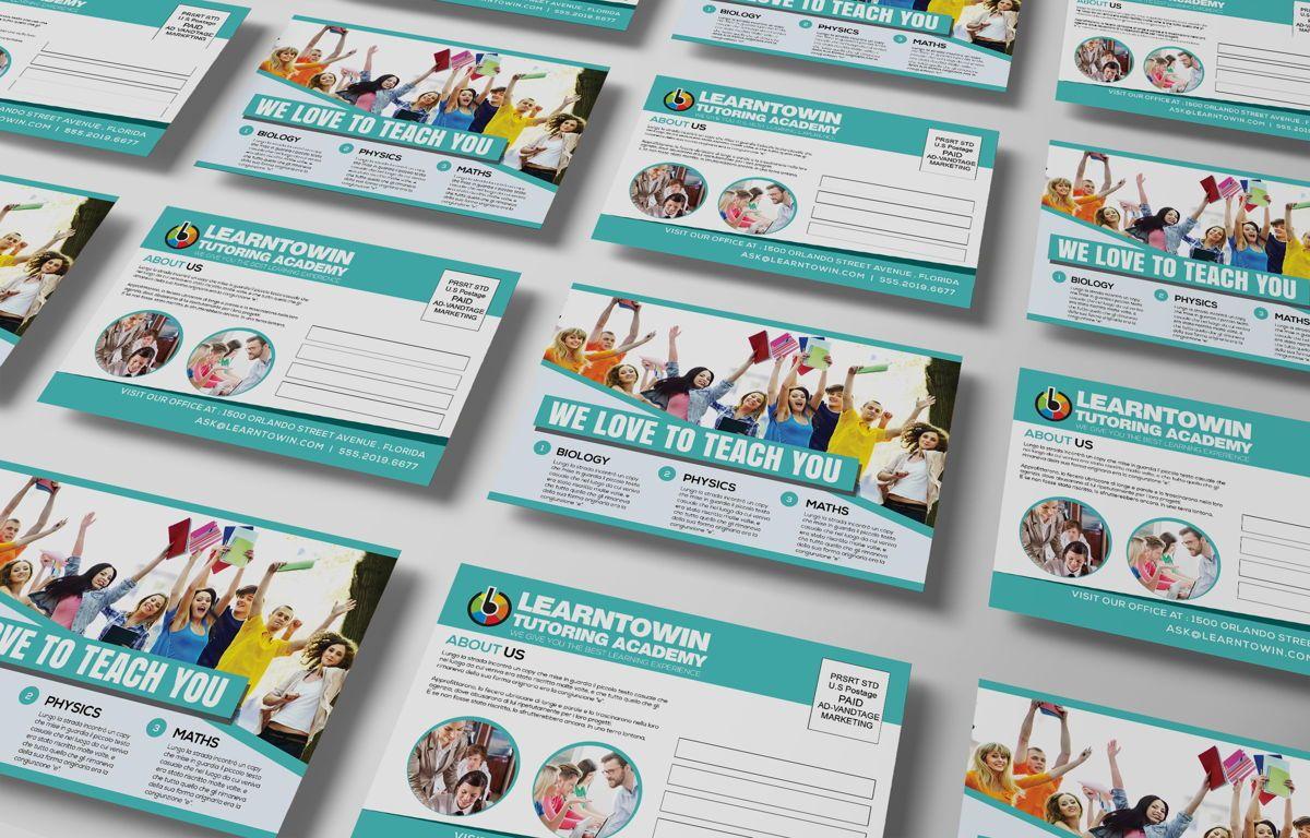 Tutoring Academy Promotion PostCard, Diapositive 5, 08667, Éducation / Formation — PoweredTemplate.com
