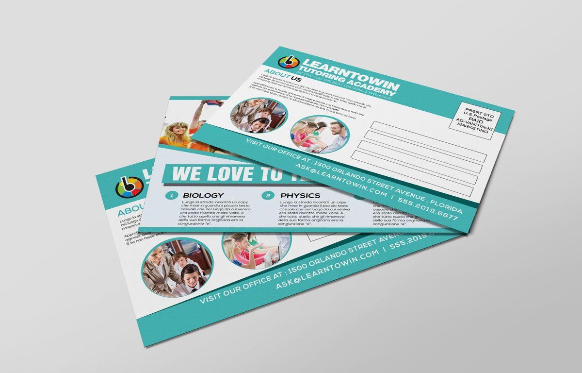 Tutoring Academy Promotion PostCard, Diapositive 6, 08667, Éducation / Formation — PoweredTemplate.com
