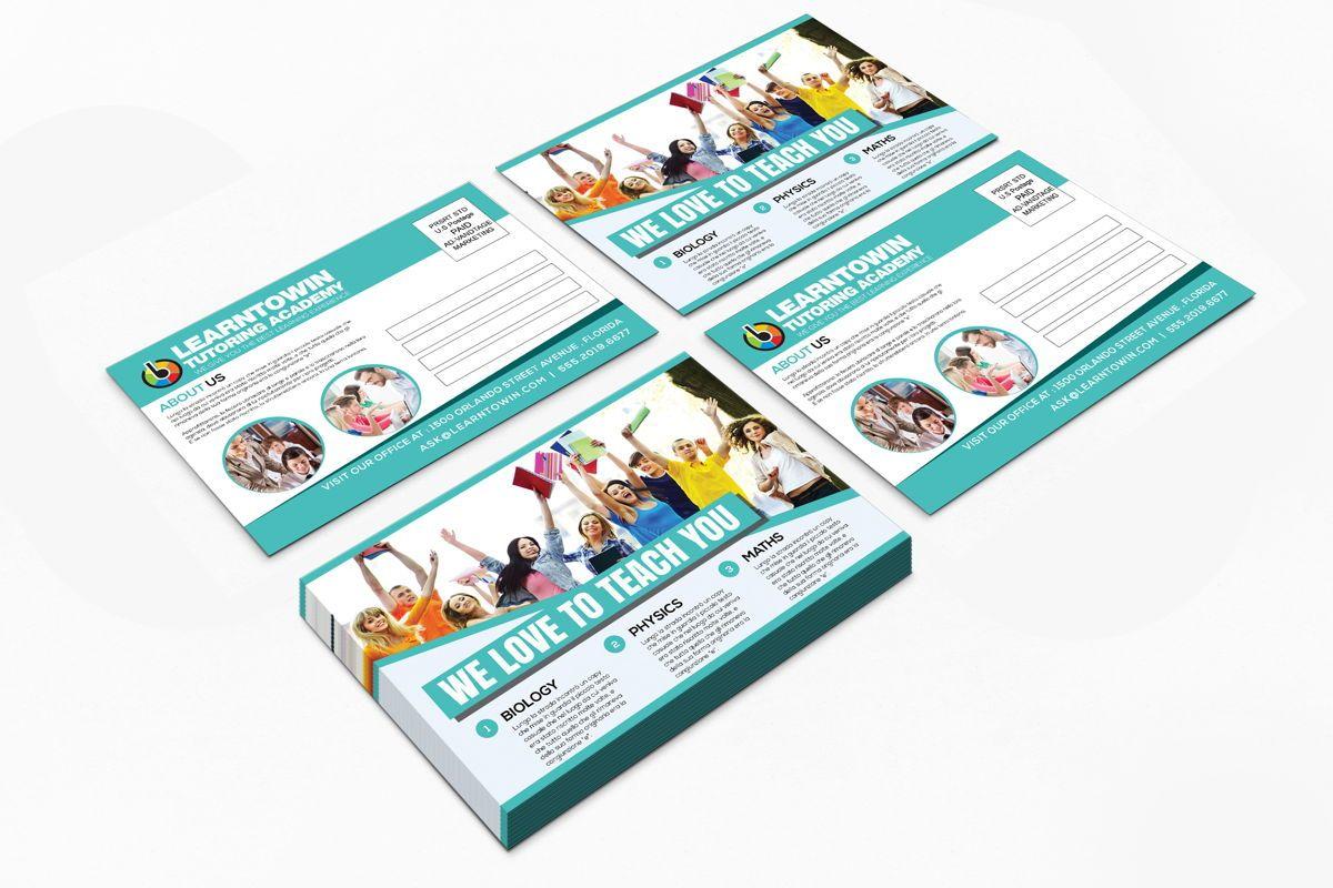 Tutoring Academy Promotion PostCard, Diapositive 8, 08667, Éducation / Formation — PoweredTemplate.com