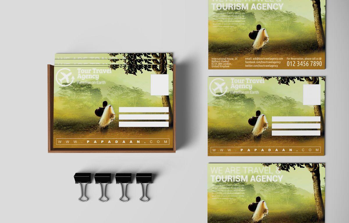 Travel and Tourism PostCard, Diapositive 3, 08675, Business — PoweredTemplate.com