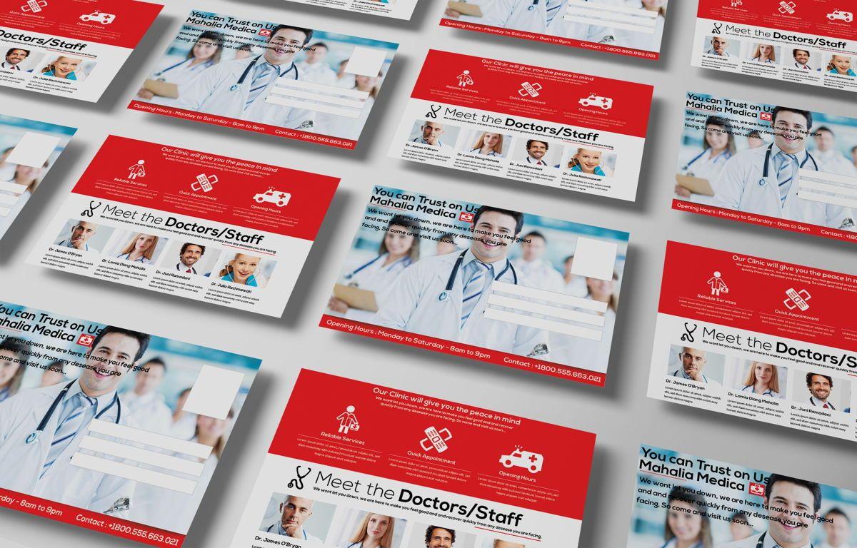 Medica Health Center PostCard, Slide 3, 08677, Business — PoweredTemplate.com