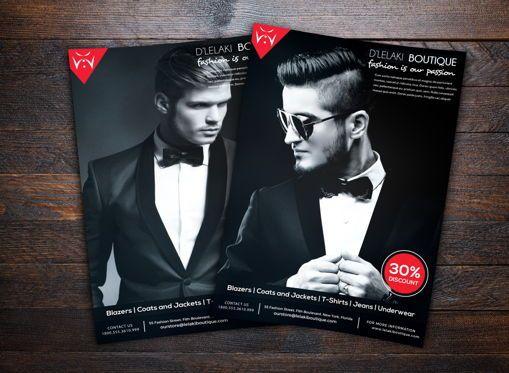Art & Entertainment: Fashion Boutique Promotion Flyer #08699