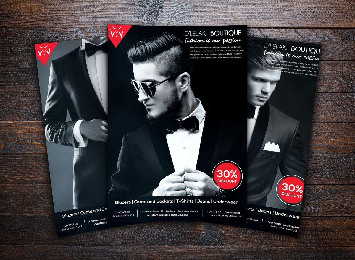 Fashion Boutique Promotion Flyer, Slide 2, 08699, Art & Entertainment — PoweredTemplate.com