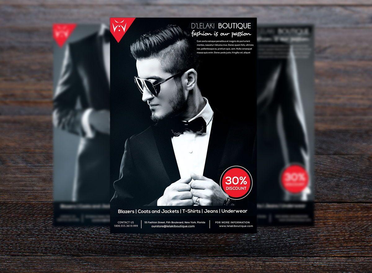Fashion Boutique Promotion Flyer, Slide 3, 08699, Art & Entertainment — PoweredTemplate.com