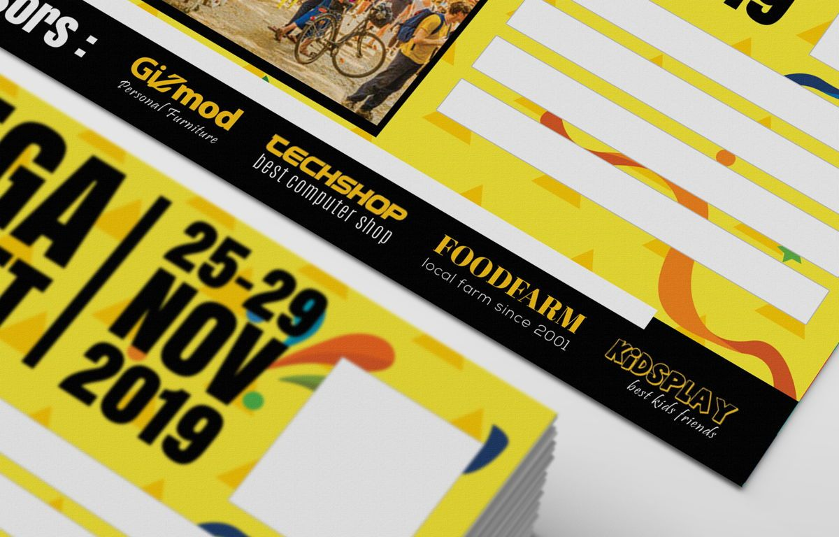 Flea Market PostCard, Slide 4, 08706, Business — PoweredTemplate.com