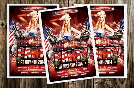Art & Entertainment: Heroes Party Flyer Template #08709