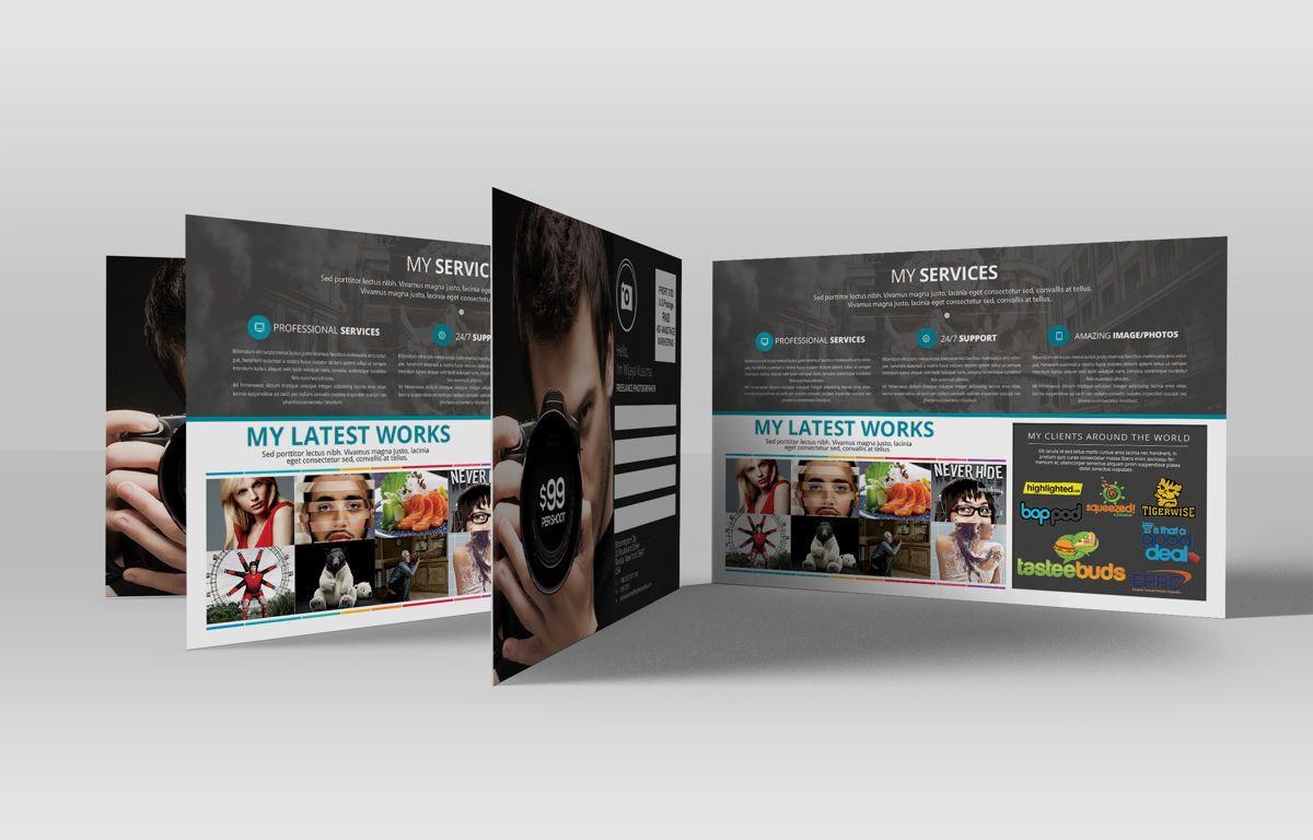 Freelance Photographer Promotion PostCard, Diapositive 3, 08720, Business — PoweredTemplate.com