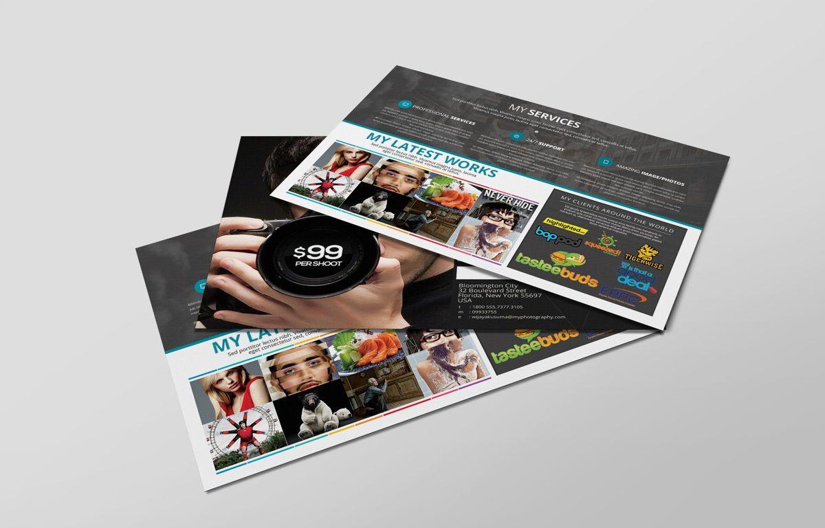 Freelance Photographer Promotion PostCard, Diapositive 6, 08720, Business — PoweredTemplate.com