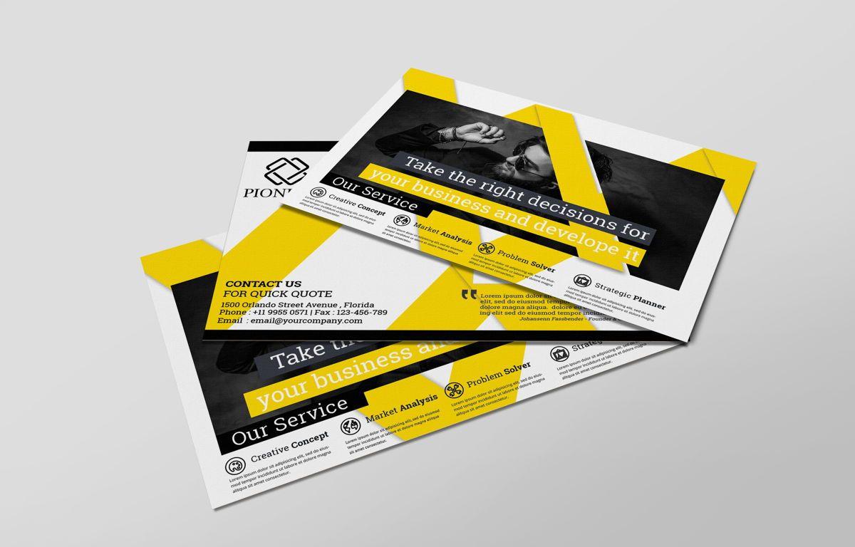 Corporate Promotion PostCard, Diapositive 3, 08727, Business — PoweredTemplate.com
