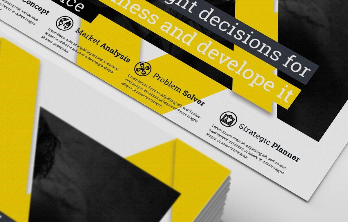 Corporate Promotion PostCard, Diapositive 4, 08727, Business — PoweredTemplate.com