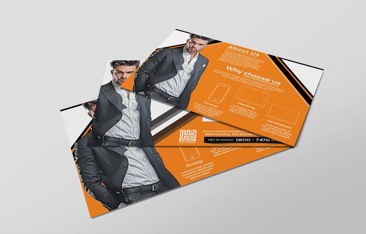 Corporate Promotion PostCard, Diapositive 4, 08728, Business — PoweredTemplate.com