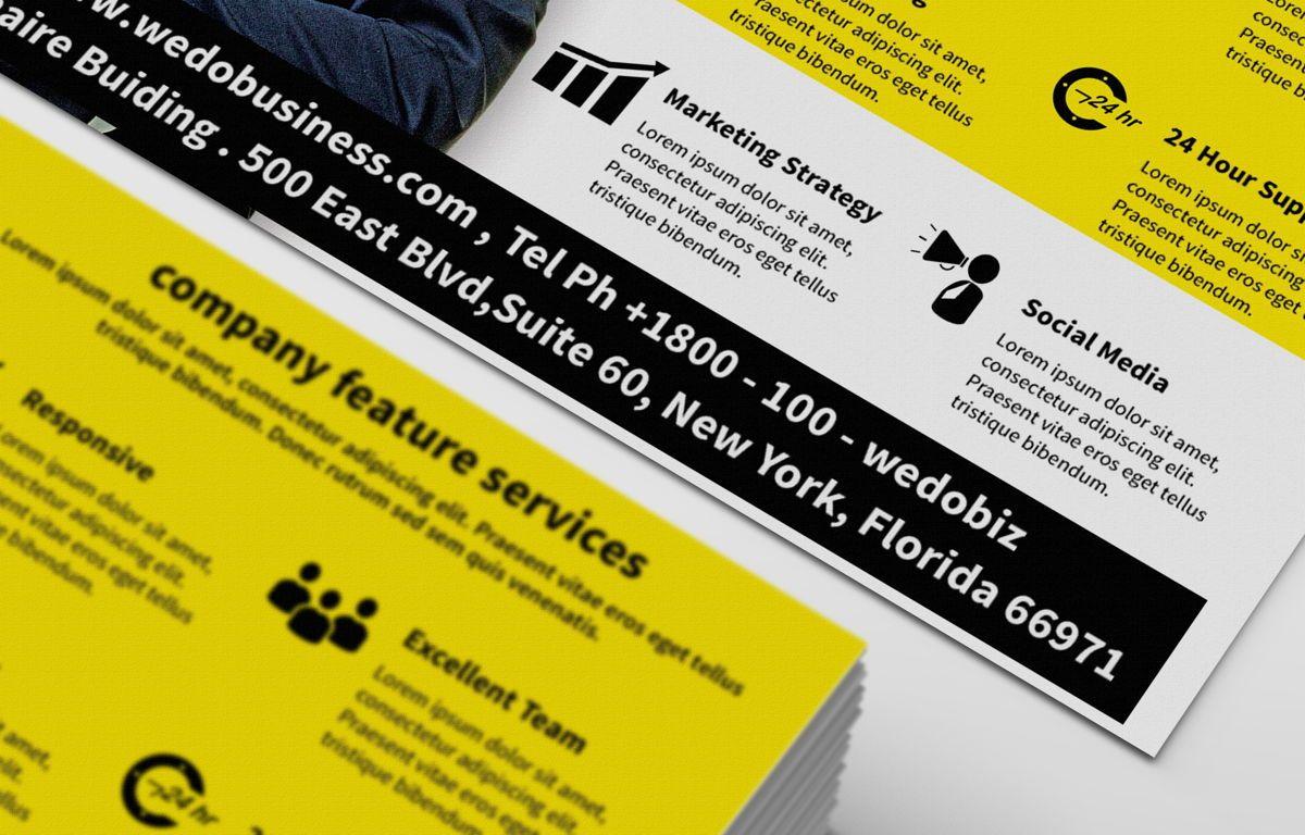 Corporate Promotion PostCard, Slide 3, 08729, Business — PoweredTemplate.com