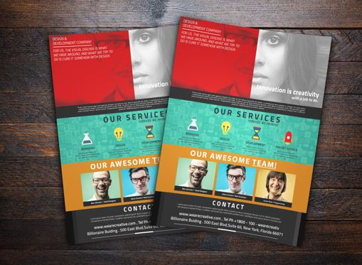 Business: Corporate Flyer Template #08736