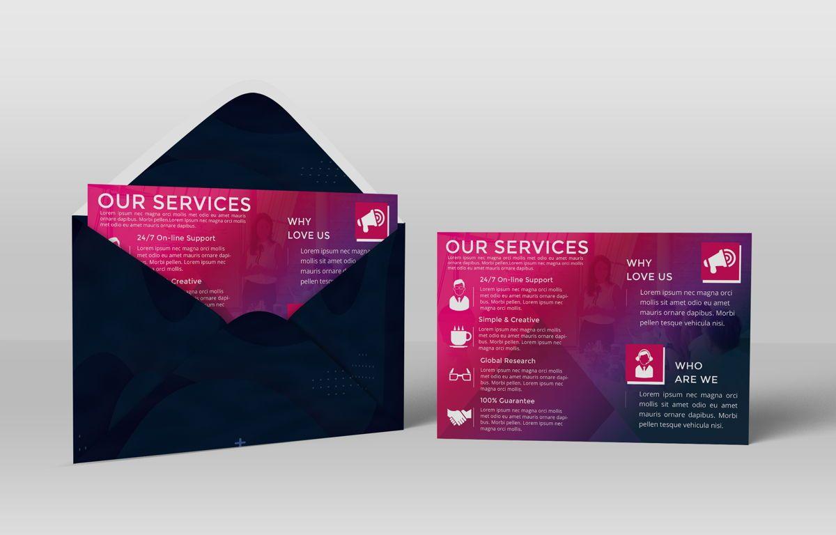Company PostCard Template, Slide 4, 08737, Business — PoweredTemplate.com