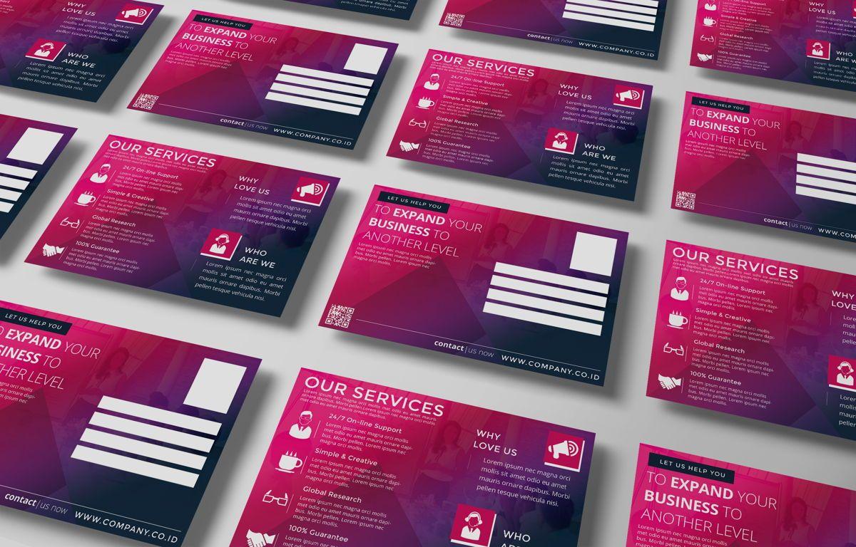 Company PostCard Template, Slide 5, 08737, Business — PoweredTemplate.com