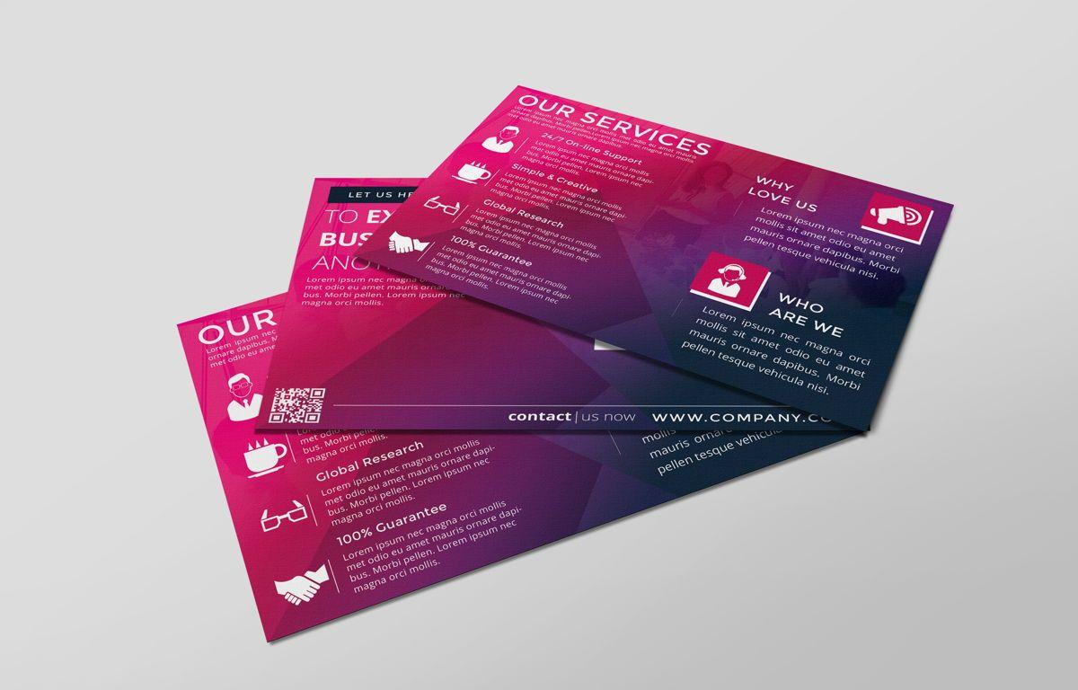 Company PostCard Template, Slide 6, 08737, Business — PoweredTemplate.com