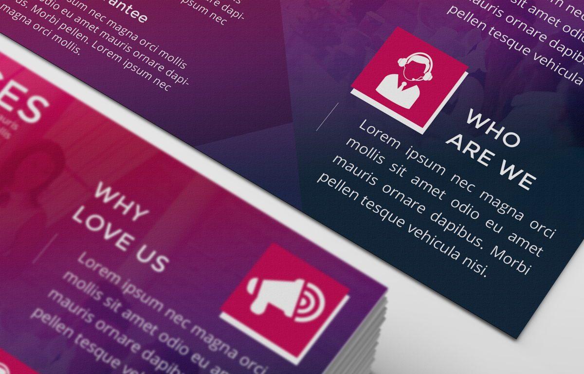 Company PostCard Template, Slide 7, 08737, Business — PoweredTemplate.com