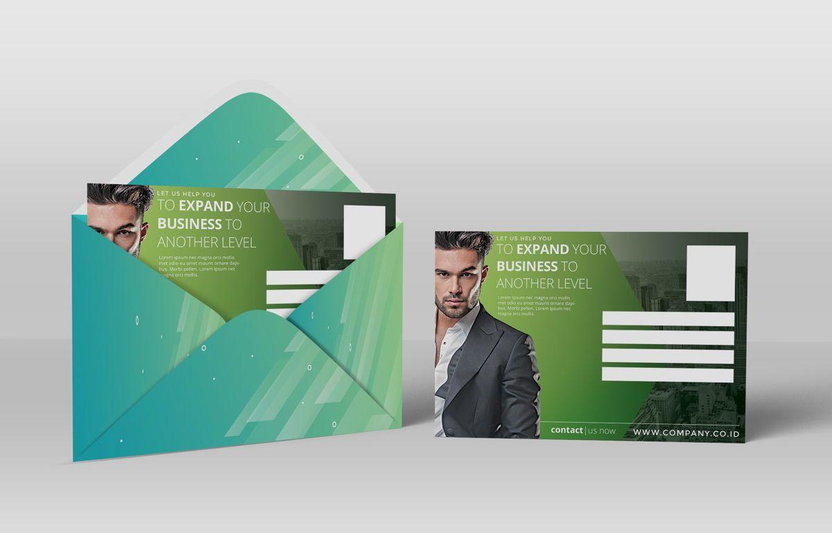 Company PostCard Template, Slide 4, 08738, Business — PoweredTemplate.com