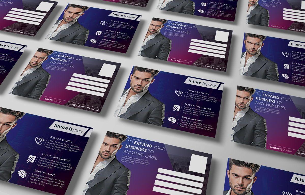 Company PostCard Template, Slide 5, 08738, Business — PoweredTemplate.com